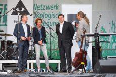 Talk mit E. Scheel (ADFC-Berlin), Stadtentwicklungssenator A. Geisel, S. Taschner (Berliner Energietisch)