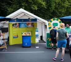 FKN Stand auf dem Umweltfestival