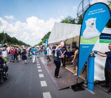 GASAG Stand auf dem Umweltfestival 2016