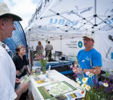 NABU Stand auf dem Umweltfestival 2016