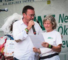 Leif Miller und Elsabeth Westphal