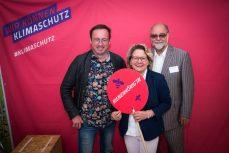 Foto: Sebastian Hennigs. Umweltministerin Schulze, Leif Miller und Prof. Hartmut Vogtmann