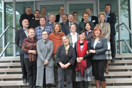 Die Projektpartner des Projektes zur grenzüberschreitenden nachhaltigen Entwicklung – EUBILD UNAKLIM aus Deutschland, Polen, Ungarn und Rumänien